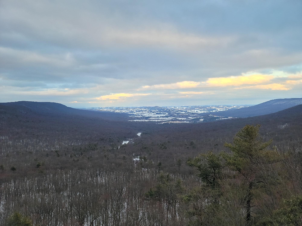 View of Hawk Mountain