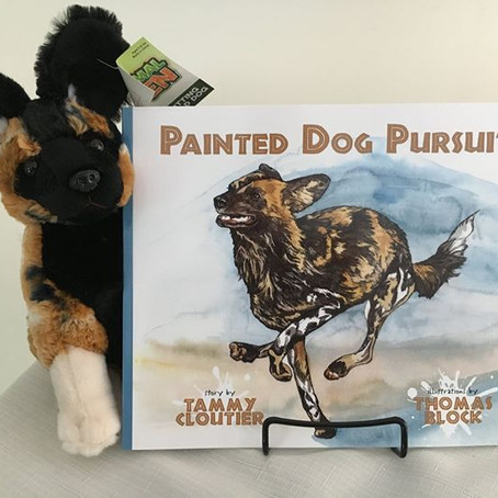 Tammy Cloutier, PhD Painted Dog Research Trust : Utilizing Social Media and Creativity for Wildlife