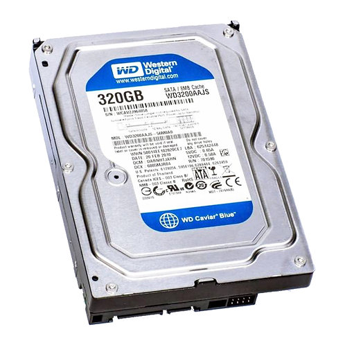 Disco Duro Pull Western Digital 320gb 7200rpm Sata2 8mb Desktop