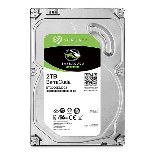 "Disco Duro Seagate Barracuda 2tb 3.5"" 7200rpm Sata 3 256mb"