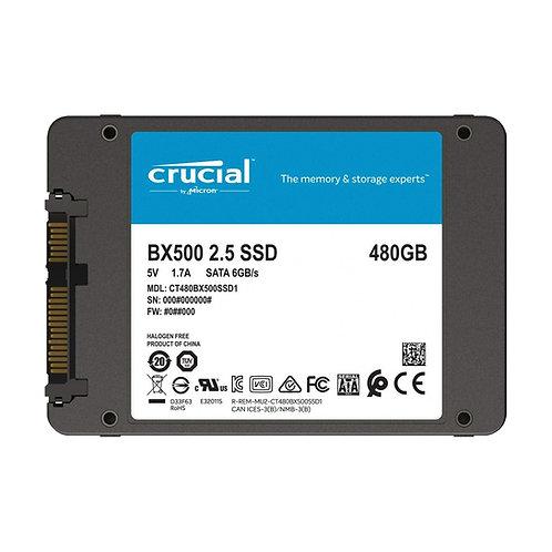 "Disco Duro Solido Crucial 480gb Ssd 2.5"" 3d Nand Sata 3"