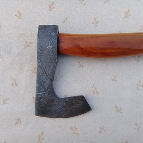 Damascus Bearded Axe