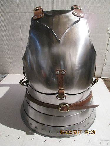 Breastplate and backplate (SCA Armor)