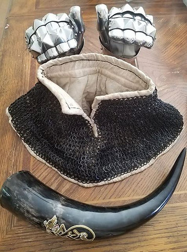 Padded Aventail (Without Chain, SCA Armor)