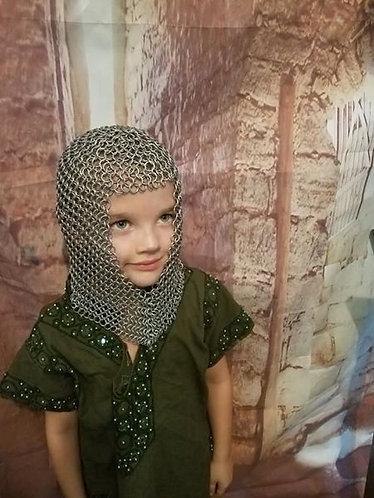 Child's Size Butted Aluminum Coif