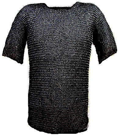 Stainless Steel Chainmail Shirt (Riveted)