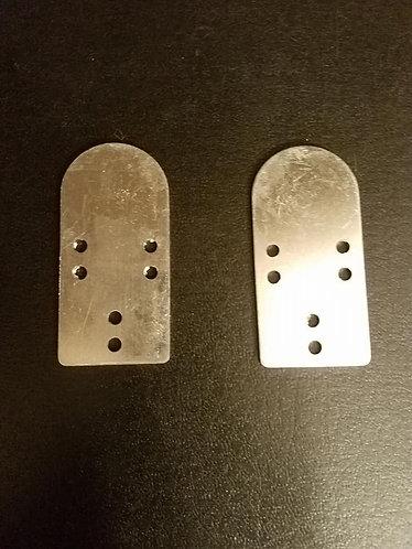 100 Aluminum Lamellar 16ga Plates