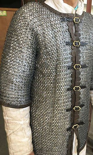 Stainless Champion's Chainmail (Riveted)