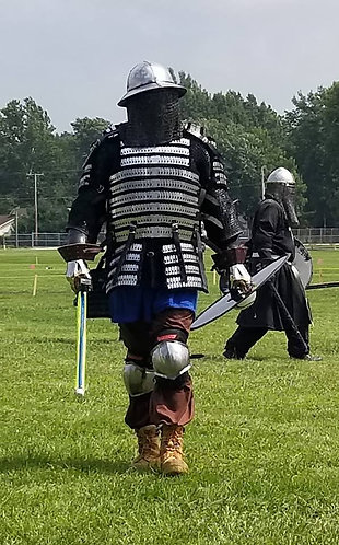 Mild and Aluminum Varangian Guard Kit (SCA Armor)