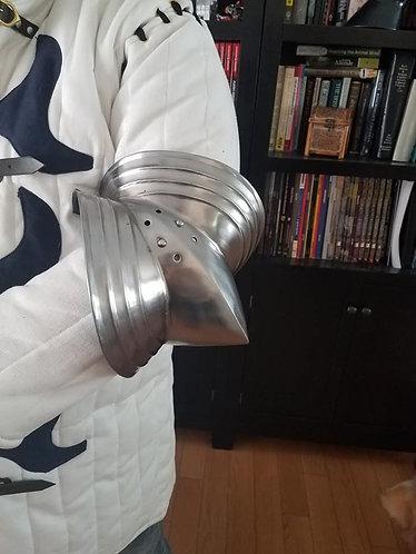 Gothic Elbows (SCA Armor)