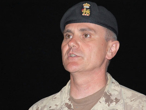 Col. Jamie Cade, Deputy Commander, Canadian Task Force in Afghanistan talks about the war in Afghani