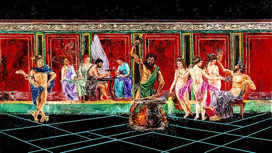 The Villa of the  Digital Art Collector