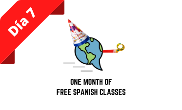 Eight days of Giveaways: Day 7 - One month of UNLIMITED Spanish Classes!