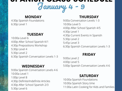 This week at SLN: 29 Classes, Events and Workshops!