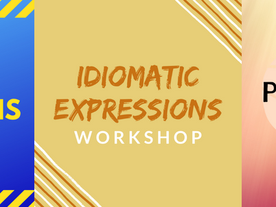 New Workshops: Tener Expressions, Idioms and Prepositions!