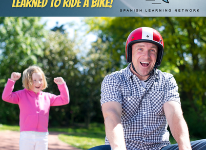 Learn Spanish like you learned to ride a bike