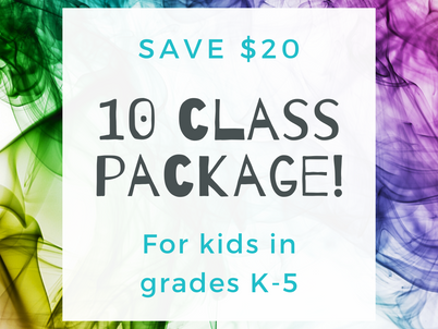 New: Package discounts for online Spanish classes for kids!