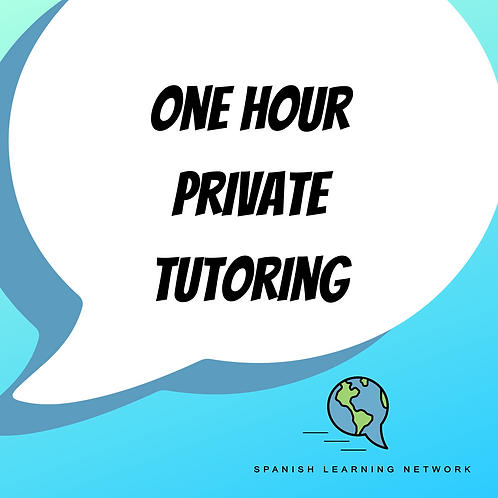 Private tutoring - 1 hour