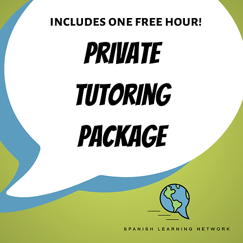 Private Tutoring Package