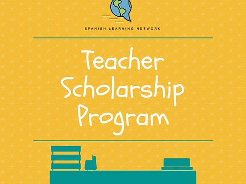 Teacher Scholarship Program