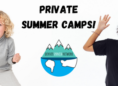 Private Summer Spanish Camps for kids!
