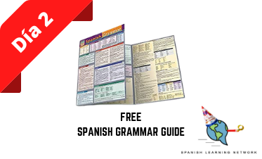 Eight days of Giveaways: Day 2 - Free Spanish Grammar Guide!