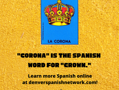 Online Spanish Classes for adults with Denver Spanish Network!