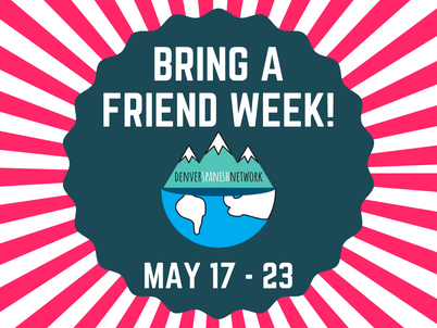 Bring a Friend Week - Friends join for free May 17 - 23!