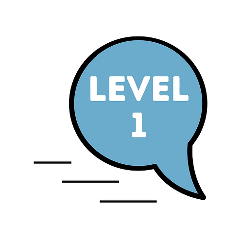 Level 1: Novice Low