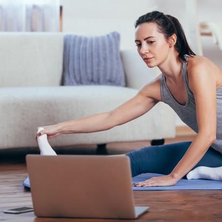 Pilates Mat Classes online via ZOOM