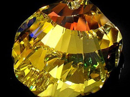 SEASHELL AURORA Crystal Swarovski Pendant