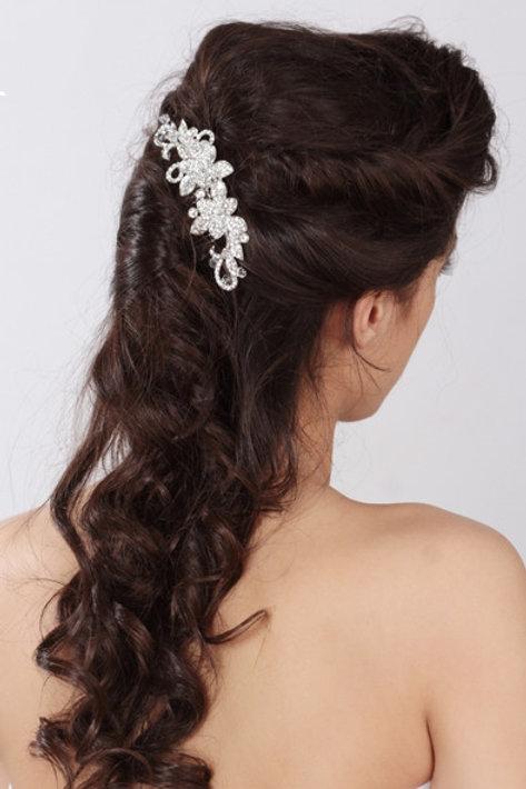 ELSIE Crystal Bridal Hair Comb