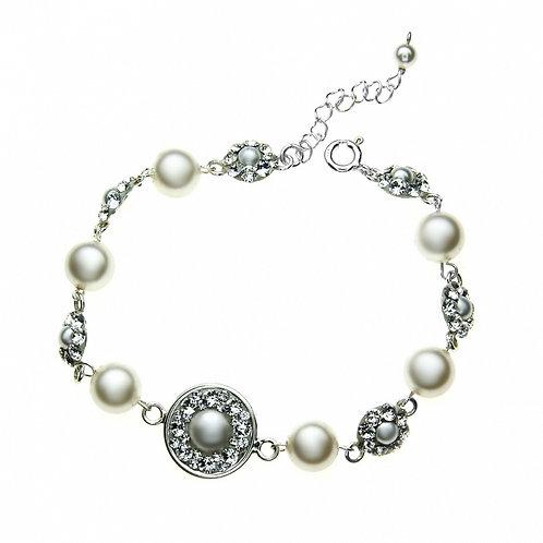 NOEMI Swarovski Ecru Pearl Bracelet
