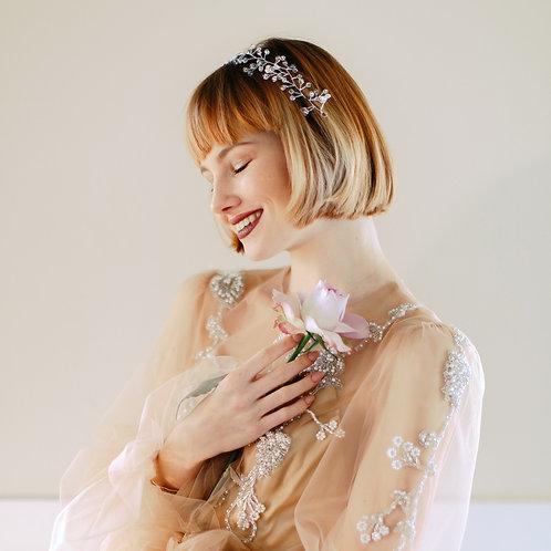 ROXANNE Classic Crystal Bridal Hair Vine