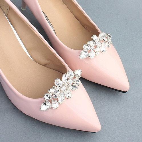ROSEF Crystal Bridal Shoe Clips