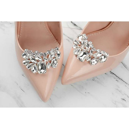 ROZETA Crystal Bridal Shoe Clips