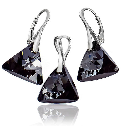 NIGHT Swarovski Crystal Set