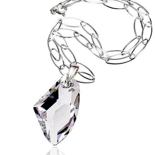 GALACTIC Large Crystal Swarovski Necklace