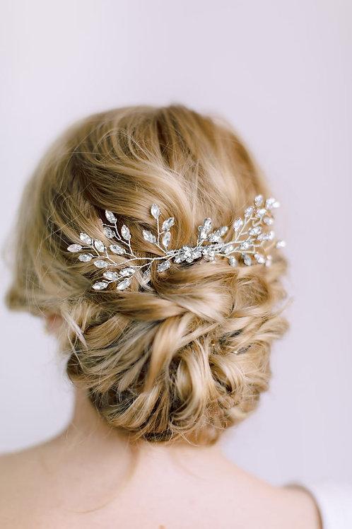 ALLEGRA Crystal Bridal Hair Comb