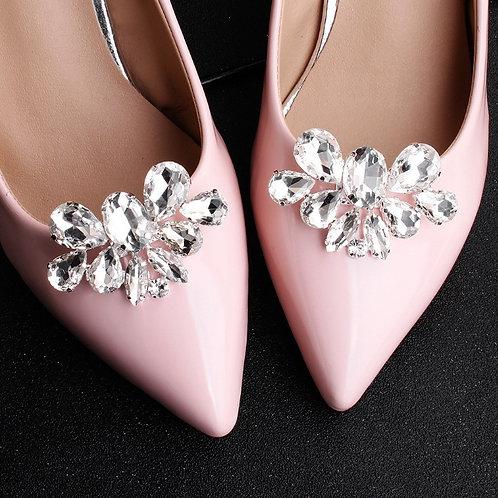 LOOK Crystal Bridal Shoe Clips