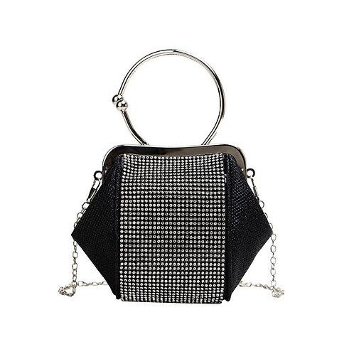 JULIEN Modern Gem Ring Clutch Bag