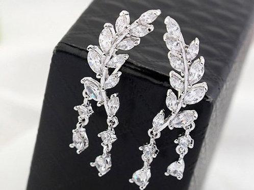 LEA Crystal Ear Cuff Crystal Earrings