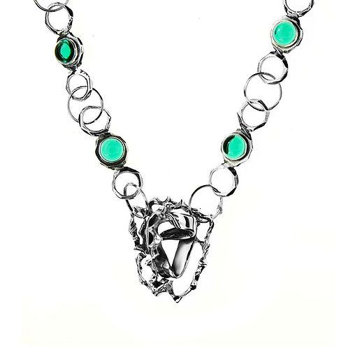 EMERALD Modern Chain Exclusive Necklace