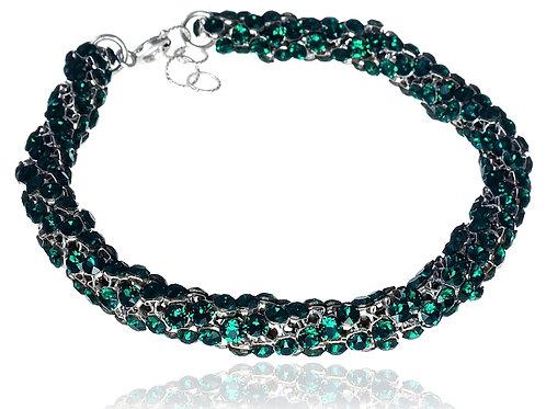 EMERALD 2 Swarovski Crystallized Bracelet