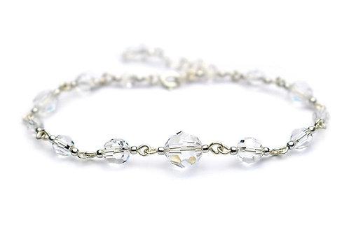 GRACE Crystal Round Swarovski Bracelet