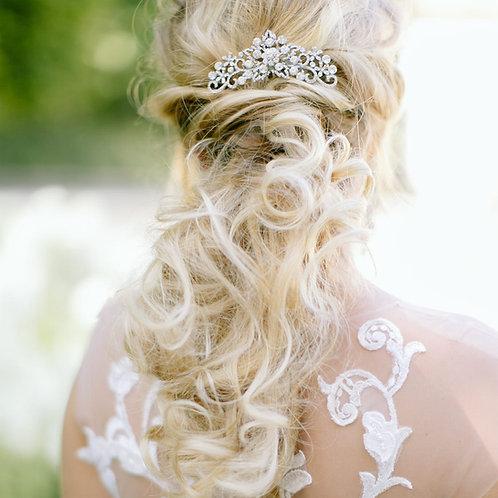 FLORI Crystal Bridal Hair Comb