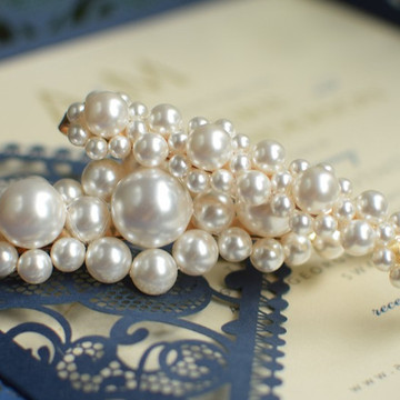 Swarovski Pearls Hair Clip Set of 2 Clip