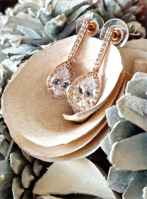 CLEO Rose Gold Classic Vintage Crystal S