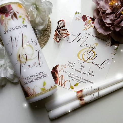 CHERISH YOUR SPECIAL MOMENTS WITH THE MOST CREATIVE AND PERSONAL OCCASION CANDLES