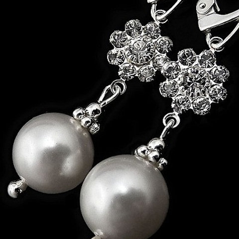 TIA Swarovski® Pearl Earrings
